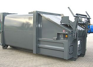 Portable Compactor for Use with Rolonof Vehicles