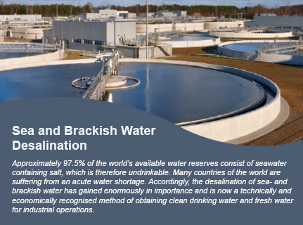 Sea and Brackish Water Desalination